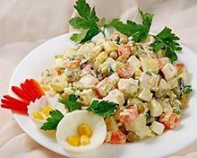 Фото салат столичный рецепт