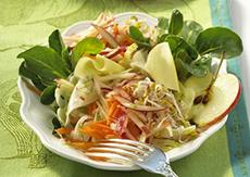 Салат с яблочным уксусом приготовление