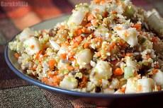 Сытный рецепт из разных овощей