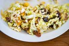 Рецепт домашнего салата из сухофруктами