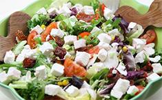 Рецепт салата с брынзой с фото