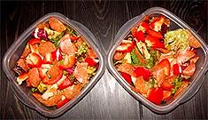 Рецепт салата с пепперони фото
