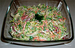 Микс-салат с овощами