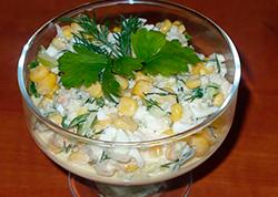 Салат из криля фото рецепт