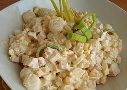 Фото салата с маринованным луком