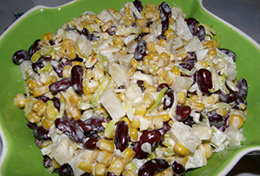 фото: Мексиканский салат с фасолью