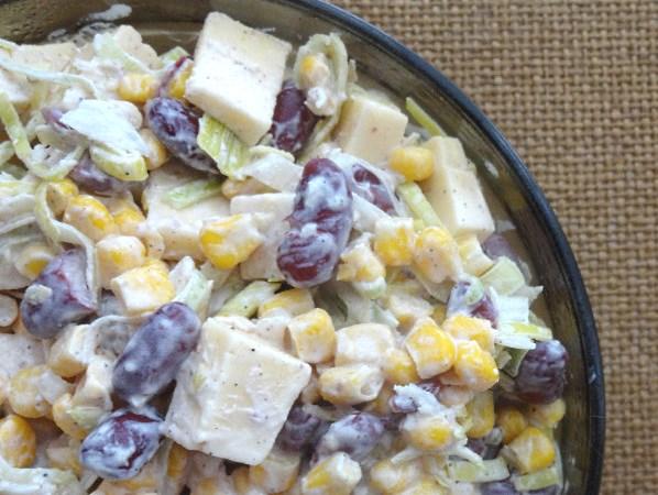 Салат фасоль сыр крабовые палочки