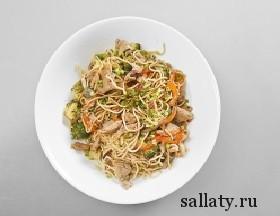 Вкусные азиатские салаты