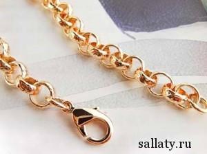 Какие бывают виды золотых цепочек для женщин