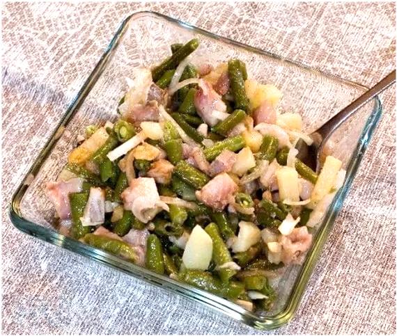 Салат с рыбой по-фински