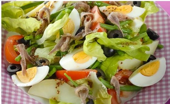 Салат с аночусами